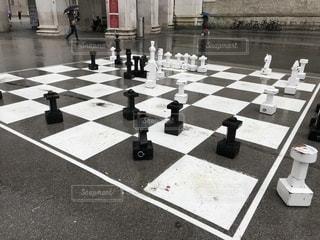 街角大型チェスアートの写真・画像素材[2693402]