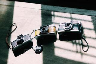 カメラと影の写真・画像素材[2695025]