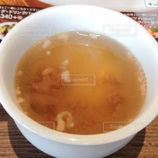 スープを一杯の写真・画像素材[2699868]