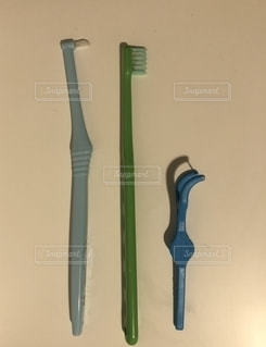 歯ブラシセットの写真・画像素材[2697819]