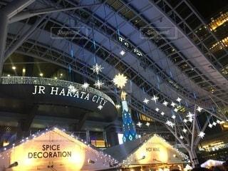 クリスマスイルミネーションの写真・画像素材[3416457]