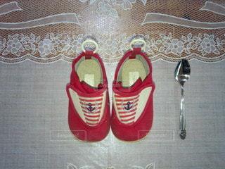 初めての靴の写真・画像素材[2738023]