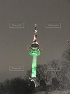 ソウルタワーの写真・画像素材[2702425]