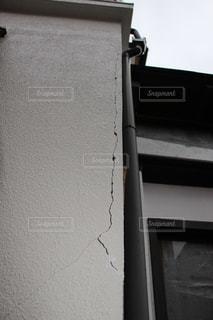 家のヒビの写真・画像素材[2704965]