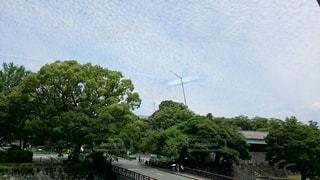 地震雲の写真・画像素材[2707361]
