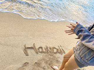 砂浜の写真・画像素材[2876798]