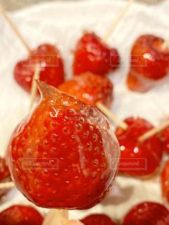 苺飴の写真・画像素材[3067434]
