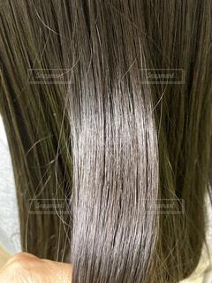 ツヤ髪の写真・画像素材[3336213]