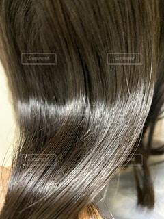 ツヤ髪の写真・画像素材[3670229]