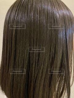 ツヤ髪の写真・画像素材[3689921]