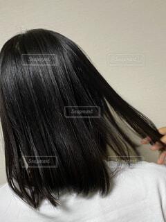ストレートヘアの写真・画像素材[3689919]