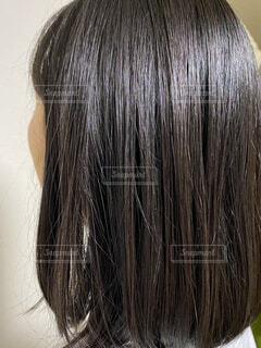 ストレートヘアの写真・画像素材[3689928]
