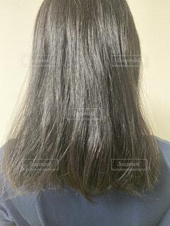 くせ毛の写真・画像素材[4227006]
