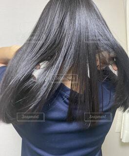 ストレートヘアの写真・画像素材[4286501]