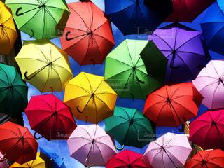 アゲダ 傘祭り ポルトガルの写真・画像素材[2706262]