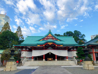 日枝神社参拝の写真・画像素材[2926783]