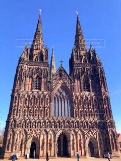 リッチフィールド大聖堂の写真・画像素材[2956370]