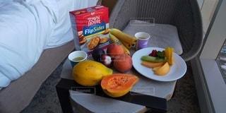 ハワイの朝食はフルーツでの写真・画像素材[2708256]