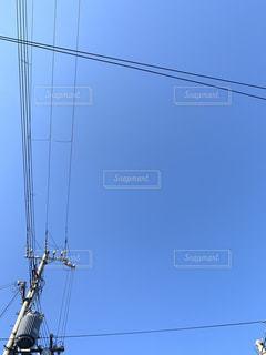 見上げる空の写真・画像素材[2709560]