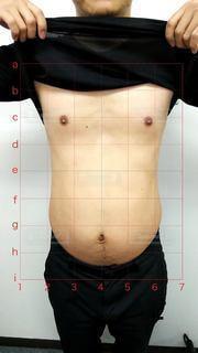 ダイエット前のお腹の写真の写真・画像素材[2718725]