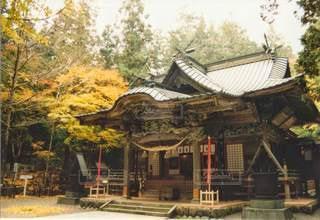 秋の長瀞/宝登山神社境内!の写真・画像素材[2730289]