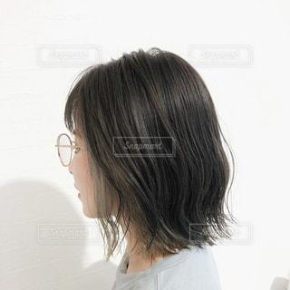 インナーカラーのヘアスタイルの写真・画像素材[3171061]