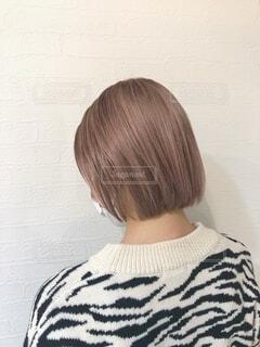 ホワイトピンクカラーの写真・画像素材[4005523]