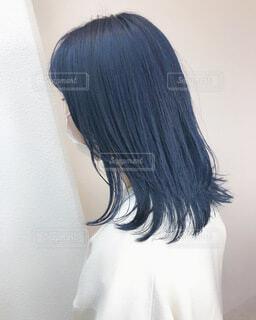 ネイビーブルーのカラーリングの写真・画像素材[4339233]