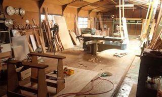 木工所の写真・画像素材[2795814]
