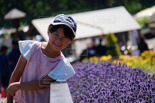 花と一緒にの写真・画像素材[2730371]