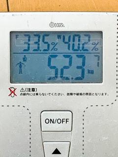 体重計の写真・画像素材[2887997]