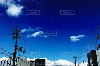 都会の青空の写真・画像素材[2732300]