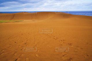 鳥取砂丘の写真・画像素材[2937612]