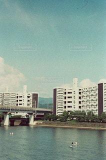 橋の上からの写真・画像素材[1290944]
