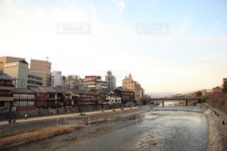 鴨川 京都の写真・画像素材[2728711]