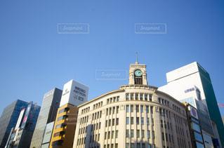 都会の高い建物の写真・画像素材[2872301]