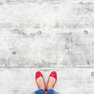 赤い靴の写真・画像素材[2739777]