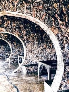 石垣の隠れ家の写真・画像素材[2734635]