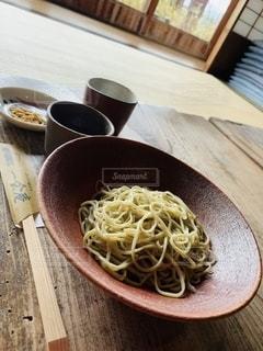 新蕎麦満喫の写真・画像素材[2737879]