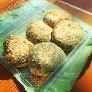 八栗山のお餅屋さんのよもぎ餅の写真・画像素材[2738414]