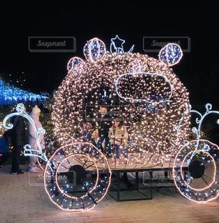 馬車のイルミネーションの写真・画像素材[2746111]