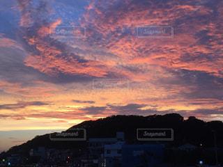 稲村ガ崎の夕景の写真・画像素材[2780383]