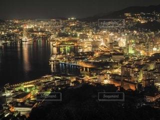 鍋冠山からの眺めの写真・画像素材[2743478]