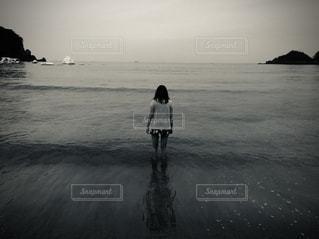 引き潮の写真・画像素材[2765317]