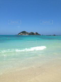 海に隣接するビーチの写真・画像素材[2833388]