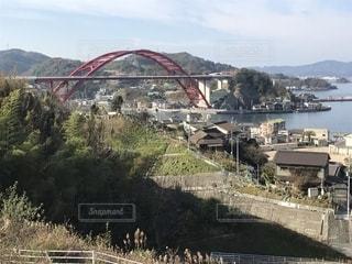 水域に架かる橋の写真・画像素材[2746147]