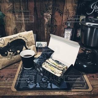 カフェ風ランチの写真・画像素材[2831178]