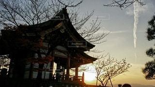 京都の夕焼けの写真・画像素材[2758362]