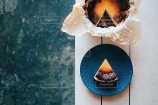 バスクチーズケーキの写真・画像素材[2749864]