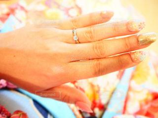 婚約指輪の写真・画像素材[2794443]